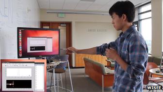 Webcam Controlling Appliances through Gestures