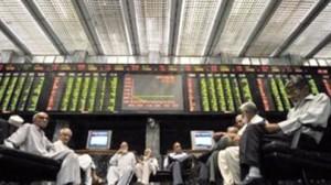 Pakistani-stocks-plunge-over-300-points-rupee-weakens
