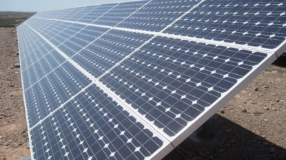 Solar developments in California.