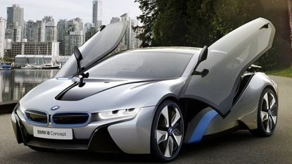 BMW Releases Images Of A Forthcoming Hybrid Supercar