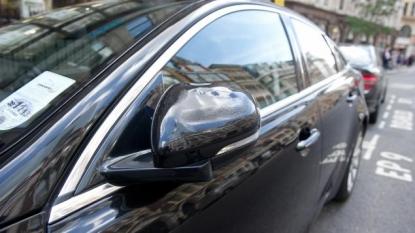 Reflection Off A Window Nearly Burns Down A Jaguar