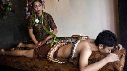 New Style of massage: Python Massage