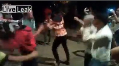 Dancing on 'Gangnam Style', shot dead in a marriage