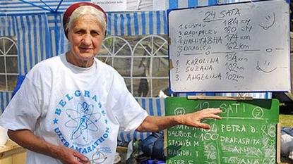 Grandmother completes 100 KM ultra-marathon race at age 77