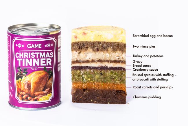 Christmas Tinner, special dinner for gamers1