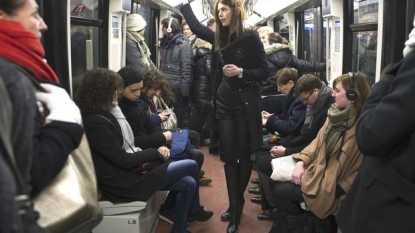 Politeness manual released by the Paris transportation authority
