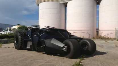 Good news for batman fans, street legal bat-mobile is on sale