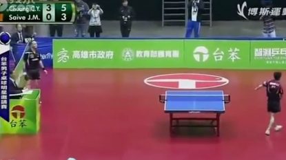The funniest table tennis match ever you seen