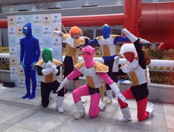 Actually, this was the graduation celebration day at the Kanazawa ...