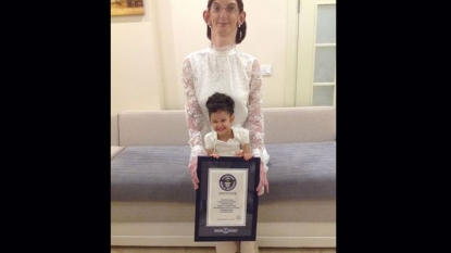 Health disorder helped to create a world record