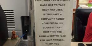 If you don't like your driving license photo then please read this before complaining about it at DMV