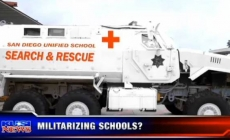 School bought an armed vehicle to protect their classrooms