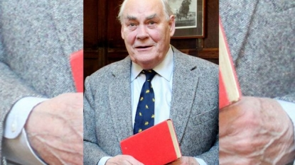 Former schoolboy returned the library book which he took almost 65 years ago
