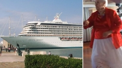 Widow of 86 lives on cruise ship after her husband told her to never leave cruising