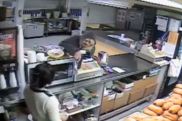 This could be funniest armed burglary ever
