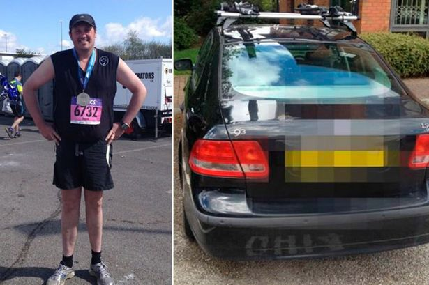 Marathon runner finally found his lost car after forgetting where he had parked it