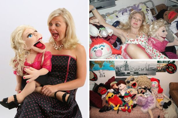 Woman dumped her fiancé for the 'puppet'