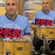 Man rushed hospital after setting longest drum roll world record