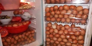 Security guard caught with more than a thousand of stolen eggs