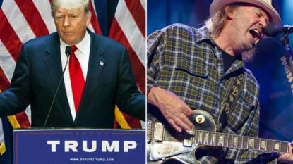 Neil Young trumps Donald Trump