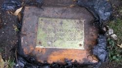 Man found stranger's ashes buried inside his garden