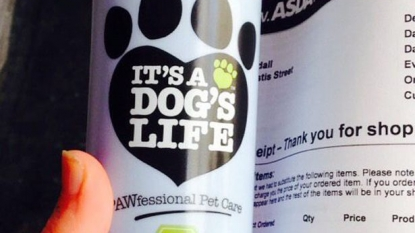 Woman ordered a 'playboy perfume' but instead received 'dog's perfume'