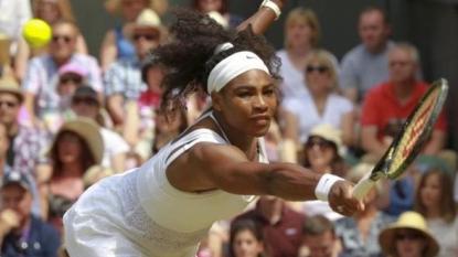 Serena Slam: Williams beats Muguruza to win Wimbledon for 4th straight Grand