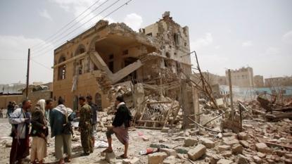 Airstrike hits market in Yemen, more than 45 killed