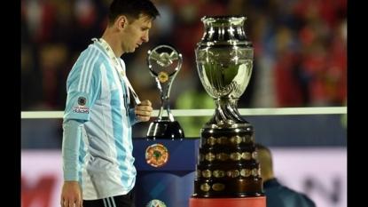 Chile win Copa America