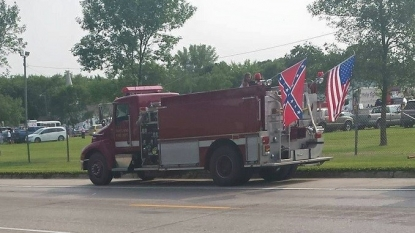 Fire Fighting News: Firefighter Suspended For Flying Confederate Flag At Parade