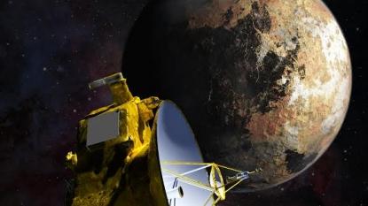 New horizons reveals ice mountains on Pluto