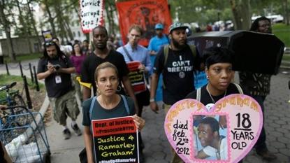 Communities mark 1 year since Eric Garner death