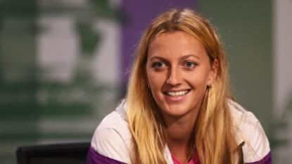 Champion Kvitova talks up title rival Serena