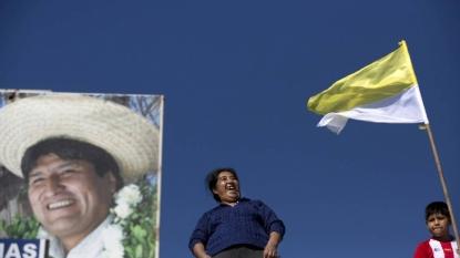Morales calls Pope's teachings 'socialist'