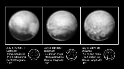 Nasa's New Horizons space probe captures new image of Pluto's 'heart' – ITV