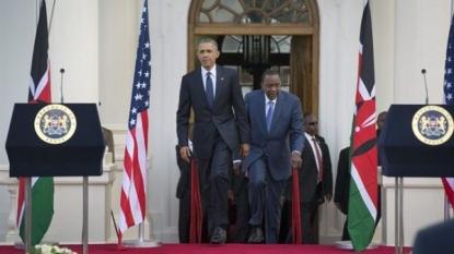 Obama: I'm Proud To Be First Kenyan-American President