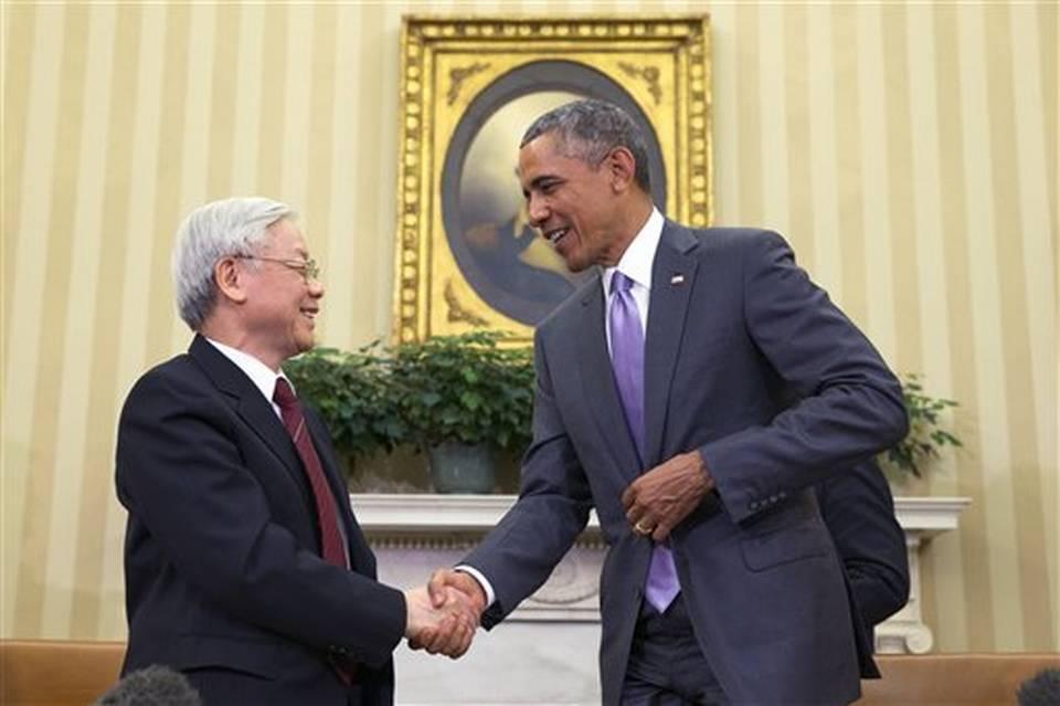 Obama hosts Vietnam Communist Party chief at White House – NBC-2.com