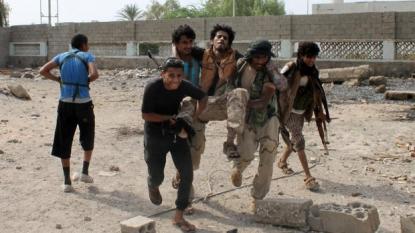 Officials say Yemeni rebels thwart advance in embattled Aden