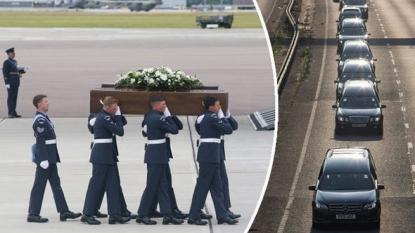 Britain falls silent for Tunisia attack victims