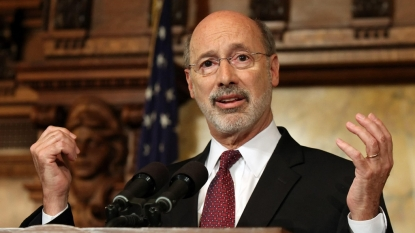 Pennsylvania governor vetoes GOP's budget bill, says it's full of