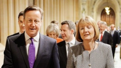 Harman faces MPs amid Tory cuts row