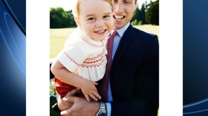 Prince George pic released ahead of birthday