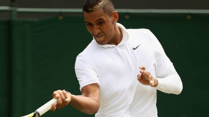 Kyrgios' controversial Wimbledon run ends