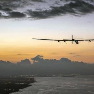 RT News: Solar-powered plane sets solo flight world record
