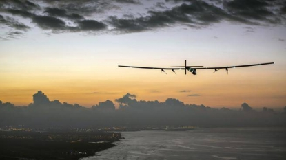 RT News: Solar-powered plane sets solo flight world record