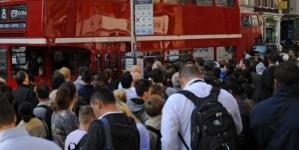 Rail News: Rock solid' strikes reduce London to a crawl