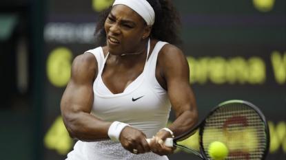 Regal Serena Williams awaits her coronation