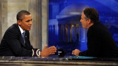 Obama faces vets, Jon Stewart amid concerns over Iran, VA