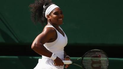 Serena Williams makes history with Wimbledon 2015