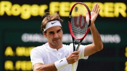 Federer beats Murray in 3 sets to reach 10th Wimbledon final